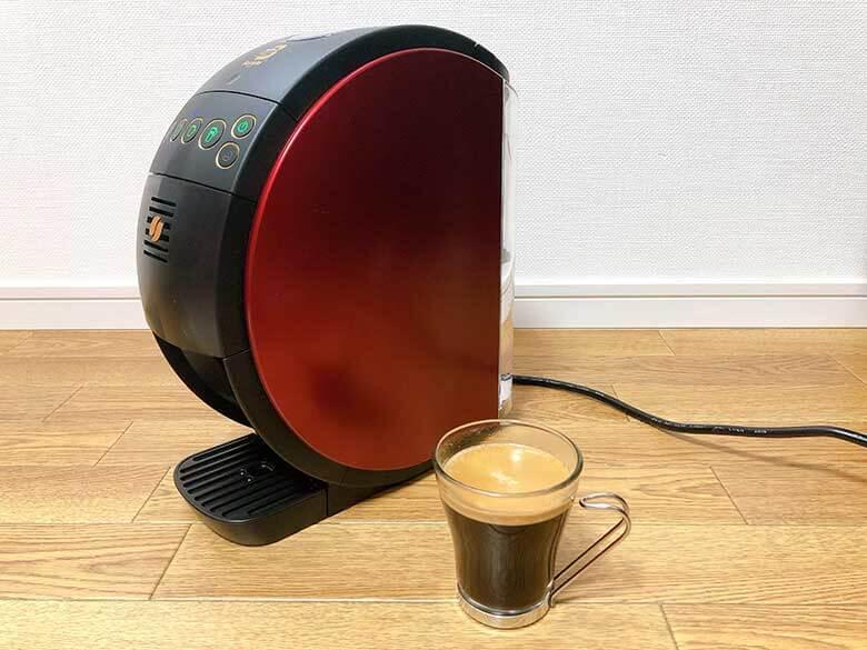 ブラックコーヒーの完成