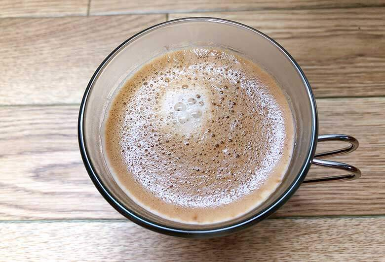 バリスタで淹れたクレマコーヒー