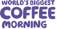 We are Macmillan. Cancer support. World's Biggest Coffee Morning. Friday 28th September.