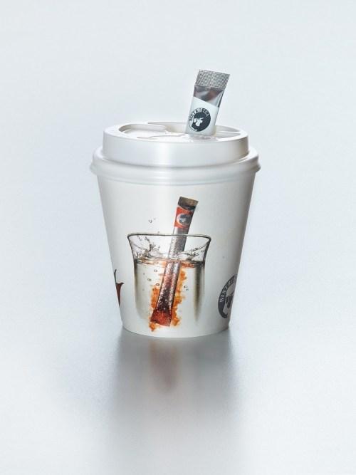 """Popieriniai puodeliai su dangteliu """"BistroTea"""" (32 vnt.) Nr.99"""