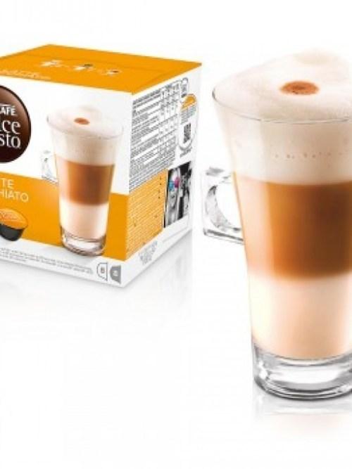 Kavos kapsulės 16 vnt. Nescafe Dolce Gusto LATTE MACCHIATO Nr.37