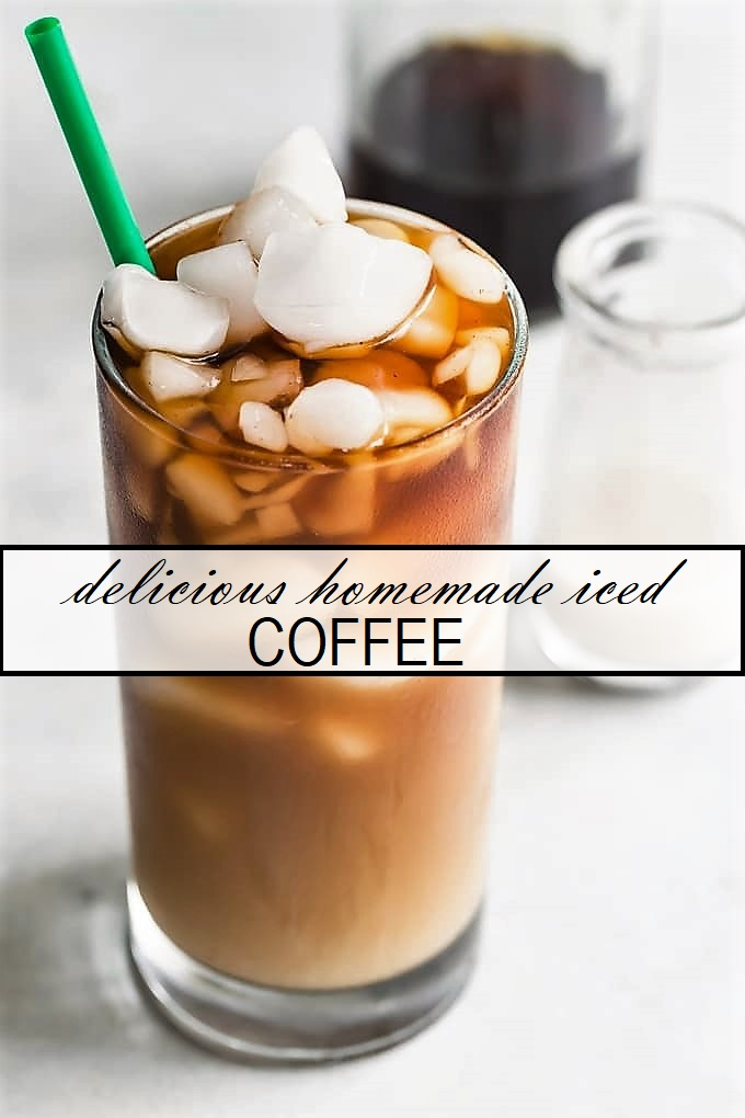 delicious homemade iced coffee