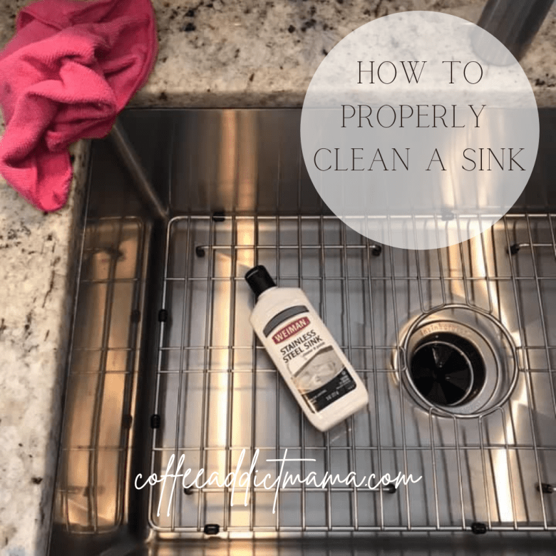 How To Properly Clean A Stainless Steel Sink