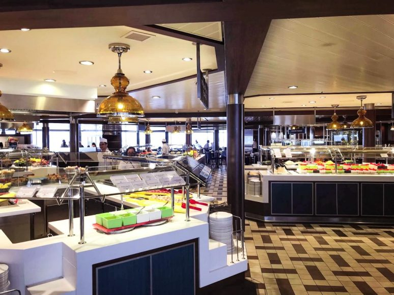 Buffet on Anthem of the Seas