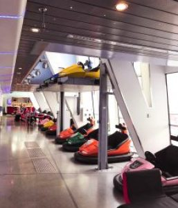Anthem of the Seas bumper cars