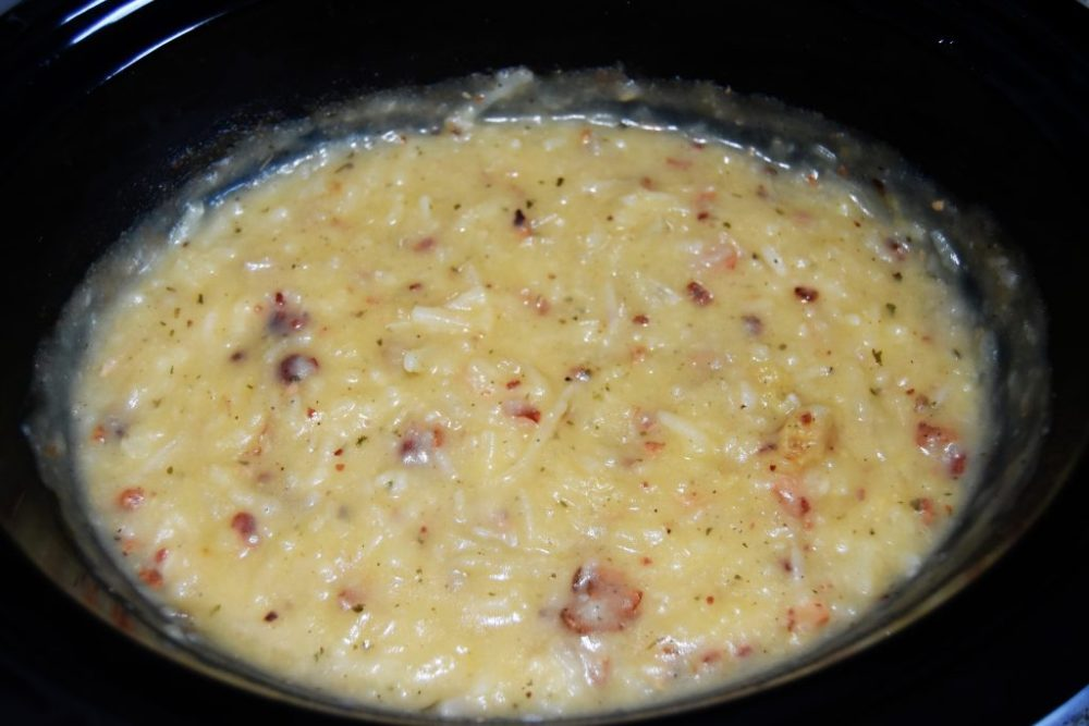 Potato Soup in crockpot