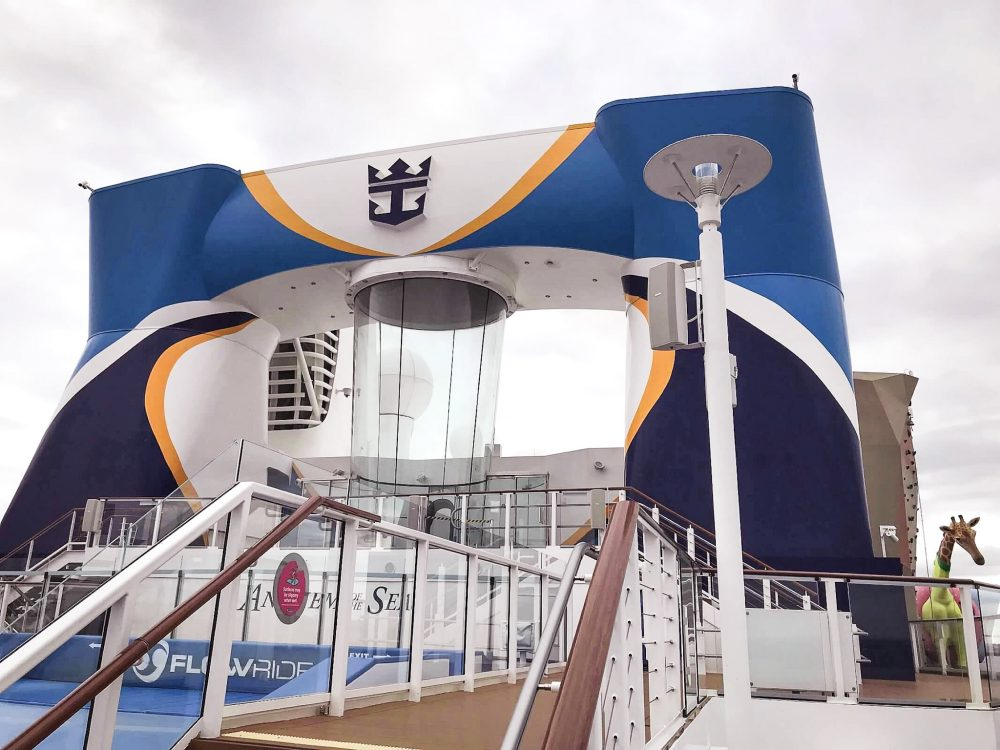 Skydiving Simulator on Anthem of the Seas