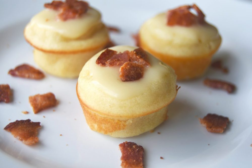 Maple Bacon Pancake Bites