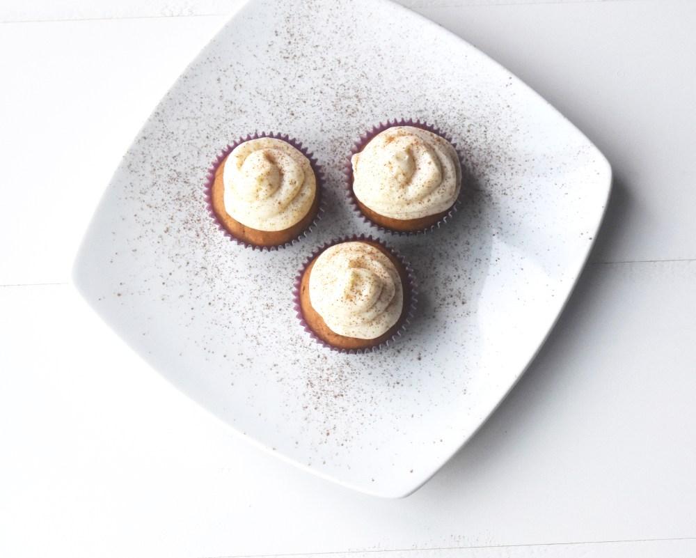 Pumpkin Cupcakes Plated