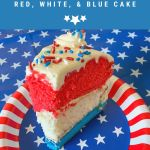 red white and blue layered cake for july 4th