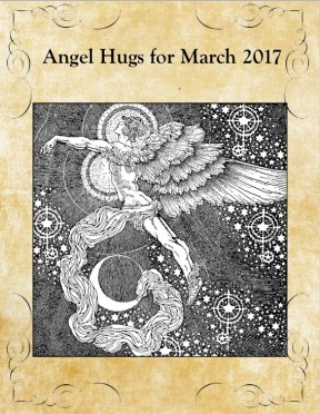 Angel Hug intuitive guide for march