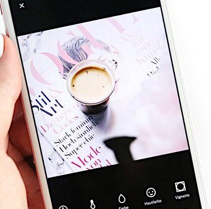 Instagram: Wie bearbeite ich meine Bilder