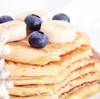 Fluffige Buttermilch Pancakes