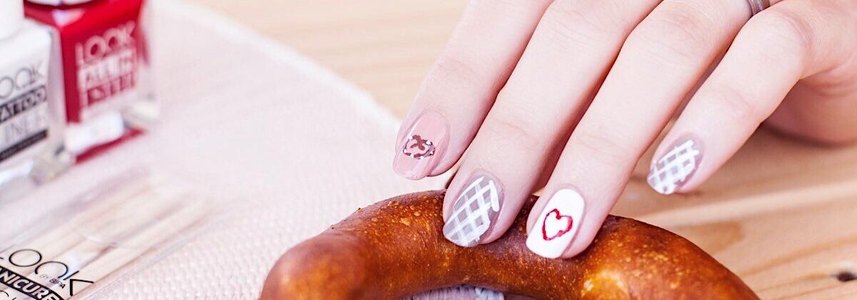 nail tutorial für den Herbst & die Wiesn