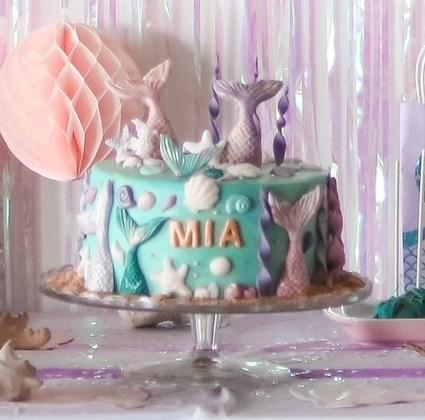 Rezepte & Tipps für eine Mermaid-Torte und Cake Pops