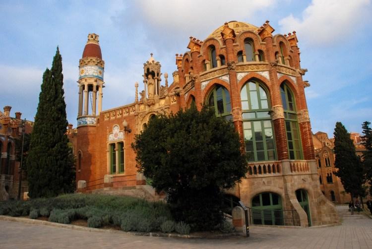 Hospital de Sant Pau building, Barcelona