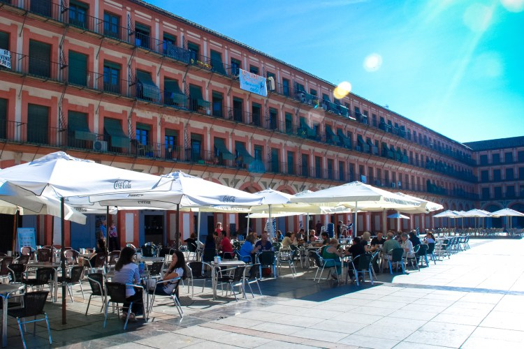The very grand Plaza de la Corredera, Cordoba.