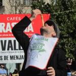The bizarre Calçot Festival in Valls, Catalunya