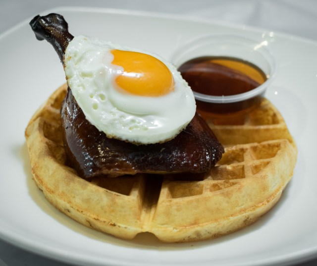 Orchard Central - Dancing Crab - Roast Irish Duck and Waffle