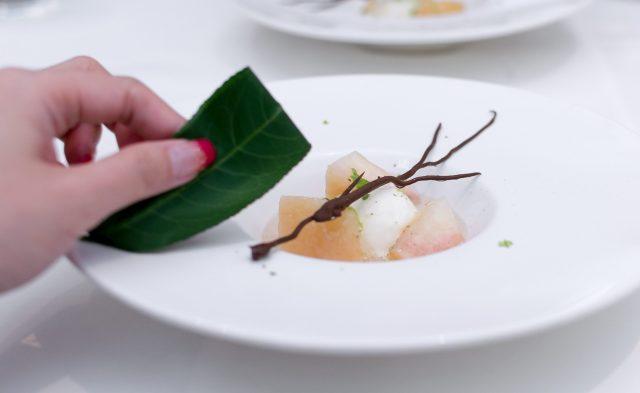 Lewin Terrace X Niigata City: Japanese Peach Dessert