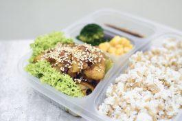 QQ RIce - Rosemary Herb Chicken Bento