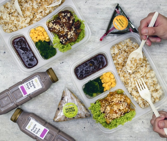 QQ Rice: New Healthy Bento Sets