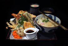 Kogane Yama — Soba Mixed Bowl Set meal