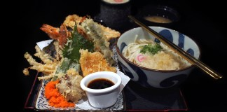 Kogane Yama — Soba Mixed Bowl Set meal