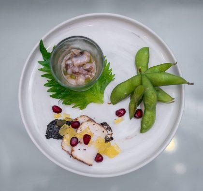 Maru Dine & Bar — 3 Kind Appetizer