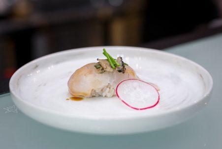 Maru Dine & Bar — Truffle Snapper Sushi