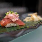 Maru Dine & Bar — Tuna Belly Sushi