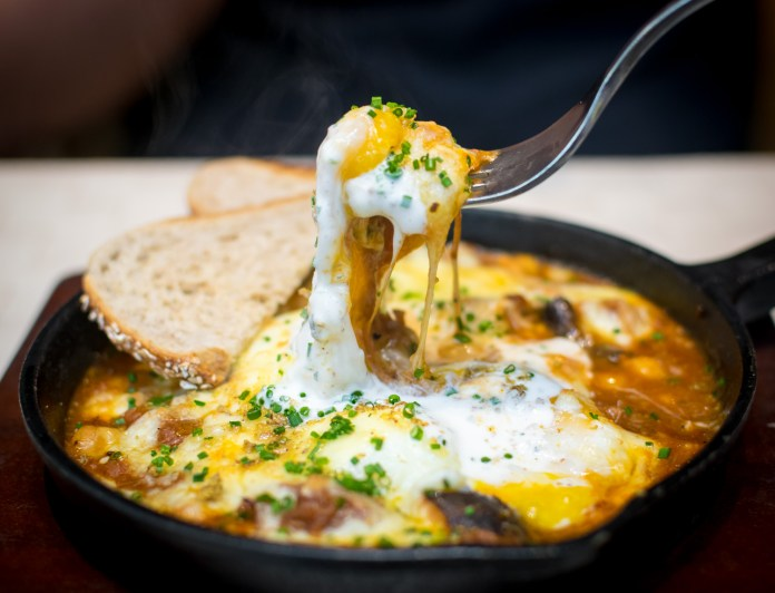 Vineyard at Hort Park — Moroccan Lamb Baked Eggs