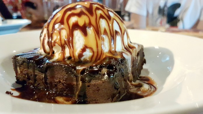 Morganfield's—Chocolate Brownie