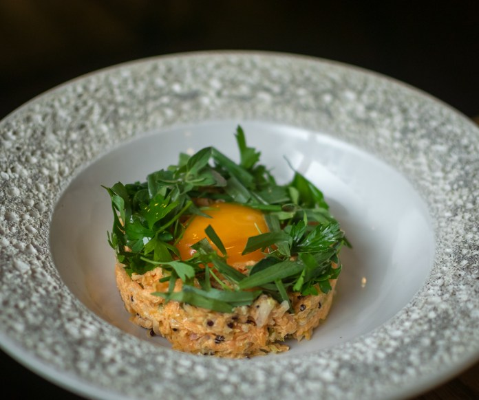 The Butcher's Wife—Carrot & Quinoa Tartare