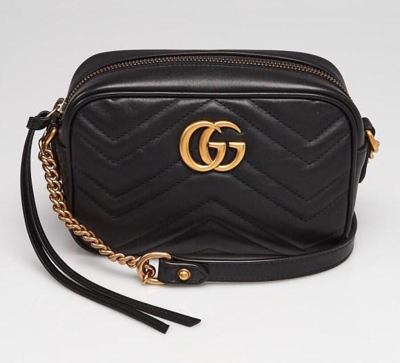 Gucci Marmont Mini Camera Bag Review   CoffeeAndHandbags.com