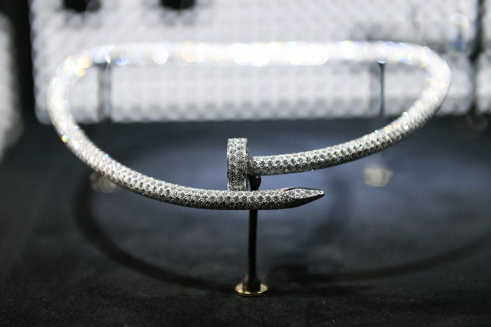 Cartier Juste Un Clou Diamond Necklace