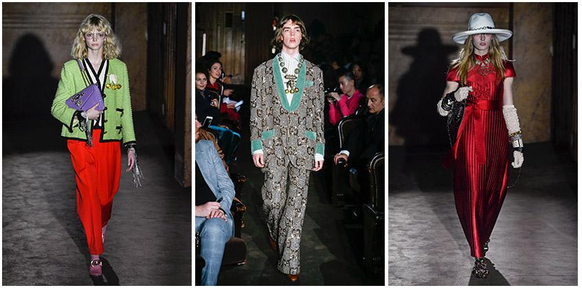 Gucci Spring 2019 Fashion Show | Photo: Yannis Vlamos; Marcus Tondo / Indigital.tv