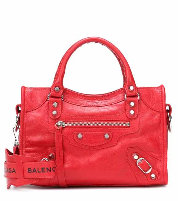 Balenciaga Rouge Tango Classic Mini City