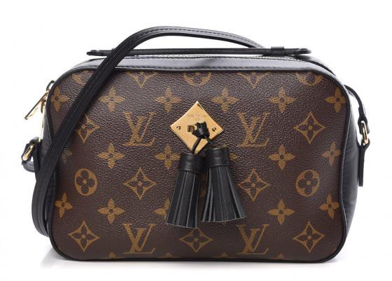 Louis Vuitton Monogram Canvas Saintonge Bag