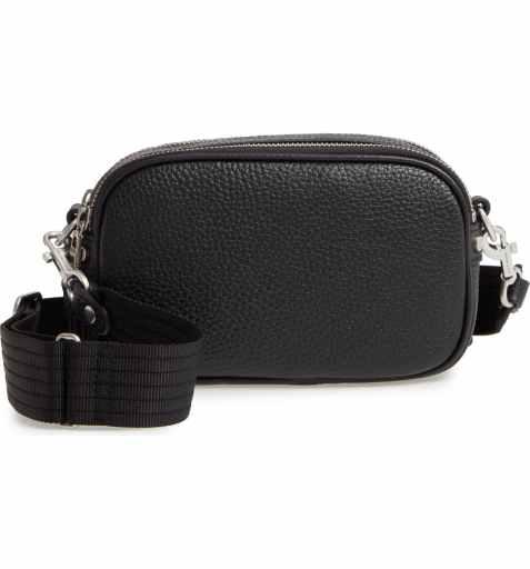 Treasure & Bond Alex Pebbled Leather Camera Bag