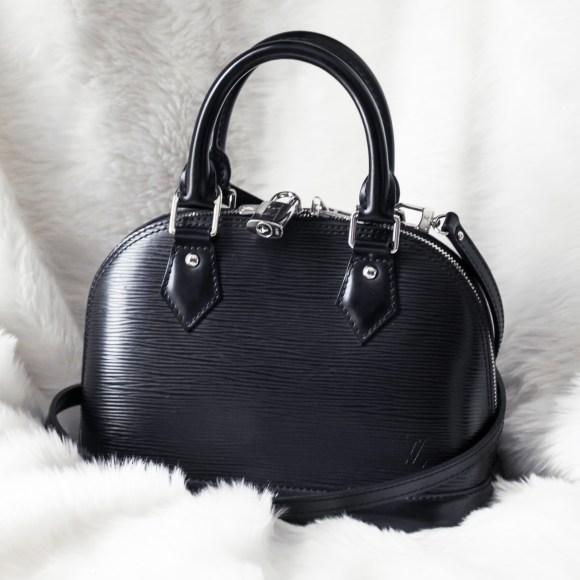 Louis Vuitton Alma BB Epi Leather