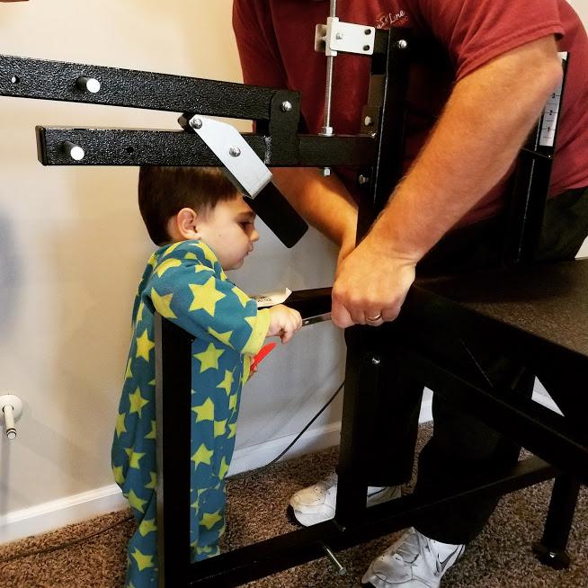 Jimmy installing Minerva
