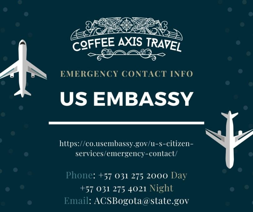 US Embassy Emergency Contact
