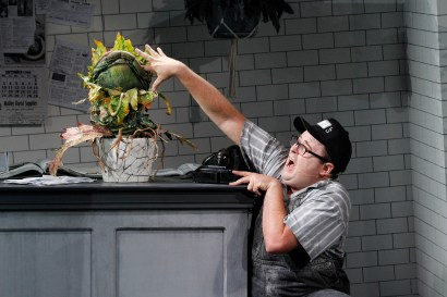 Audrey II, Brent Hill LITTLE SHOP OF HORRORS - PHOTO CREDIT JEFF BUSBY