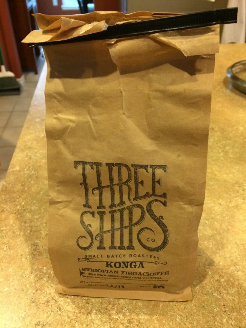 Review: Three Ships Konga Ethiopian Yirgacheffe (Virginia Beach, Virginia)