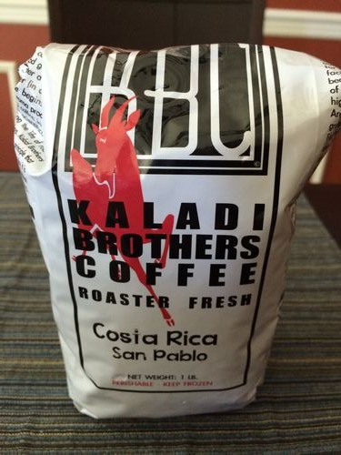 Review: Kaladi Brothers Coffee Costa Rica San Pablo (Anchorage, Alaska)