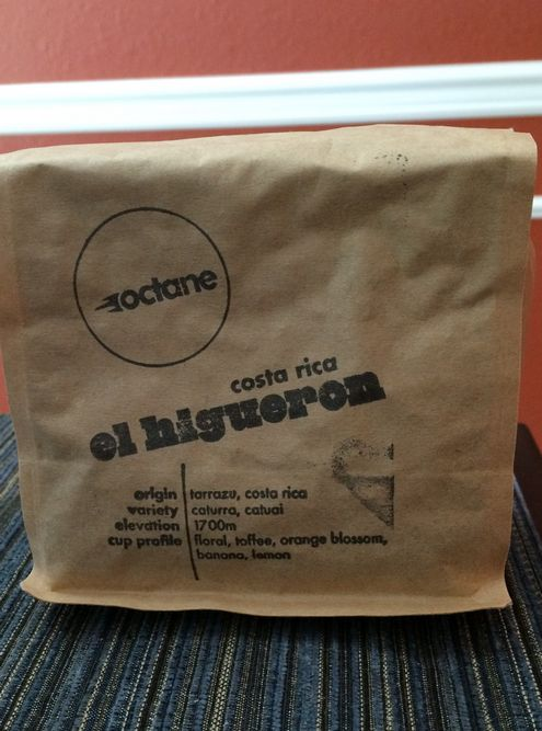 Review: Octane Coffee Costa Rica El Higueron (Atlanta, Georgia)