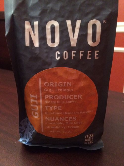 Review: Novo Coffee Roasters Ethiopia Guji (Denver, Colorado)