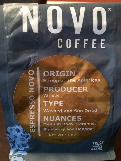 Review: Novo Coffee Roasters Espresso Novo (Denver, Colorado)
