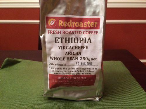 Review: Redroaster Coffee Ethiopia Yirgacheffe Aricha (Brighton, England)